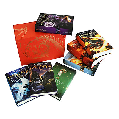 Harry Potter Boxed Set: The Complete Collection Children's (Hardback) Bloomsbury UK Edition (English Book)