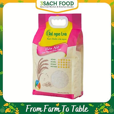 [Chỉ Giao HCM] - Gạo Hạt Ngọc Trời Tiên Nữ - gói 5kg