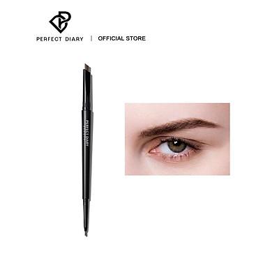 Bút Kẻ Lông Mày PERFECT DIARY Hai Đầu Hoàn Hảo 0.34g