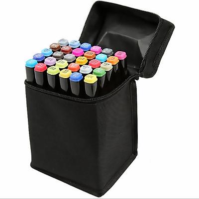 bút màu Touch Mark 30 màu  đen cao cấp