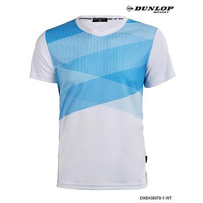 Áo thun thể thao Nam Dunlop - DABAS8078-1-WT
