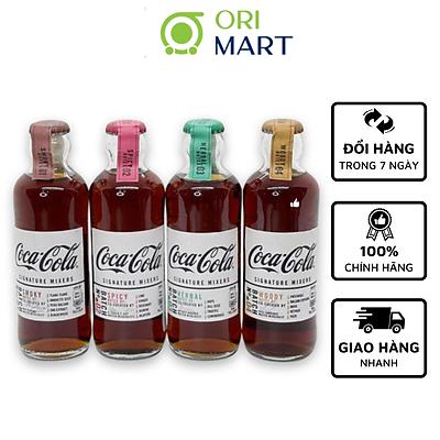 COMBO COCA-COLA SIG MIXERS 4 VỊ ( CHAI 200ml)