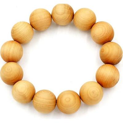 Chuỗi đeo tay gỗ ngọc am 18 ly 13 hạt