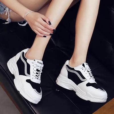 Giày thể thao Ulzzang độn đế siêu đẹp - đế êm - hàng cao cấp fullbox - Dung Giay