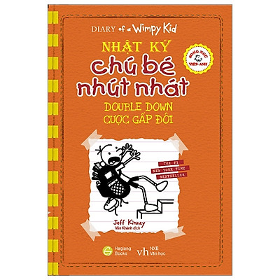Song Ngữ Việt - Anh - Diary Of A Wimpy Kid - Nhật Ký Chú Bé Nhút Nhát: Cược Gấp Đôi - Double Down