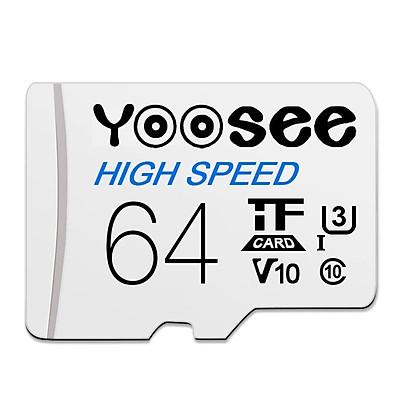 Thẻ nhớ microSDXC Yoosee 64GB tốc độ cao chuyên dụng cho camera, điện thoại - Hàng chính hãng