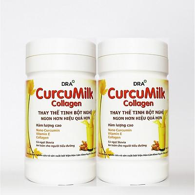 Combo 2 Hộp Thực Phẩm Chức Năng Sữa Nghệ CurcuMilk Collagen (1000g)