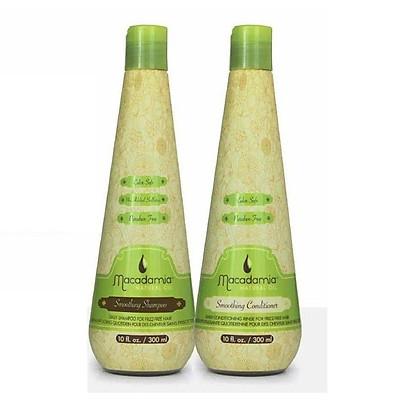 Bộ dầu gội xả dưỡng ẩm siêu mượt tóc khô Macadamia Smoothing chính hãng Mỹ