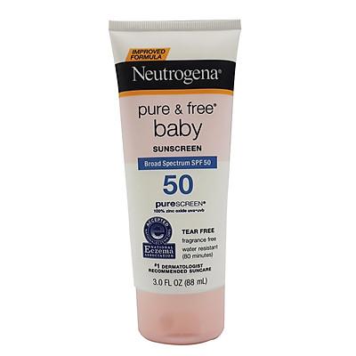 Kem Chống Nắng Neutrogena PURE & FREE BABY Cho Mẹ và Bé