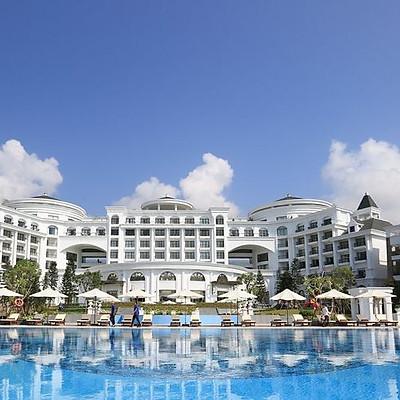 [Ưu đãi 2021 - Giá mùa cao điểm] - Vinpearl Resort & Spa Hạ Long 5*. Trọn gói ăn ba bữa, cùng nhiều tiện ích hấp dẫn khác.
