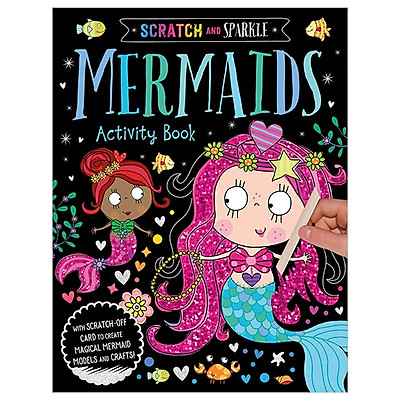 Scratch And Sparkle Mermaids Activity Book
