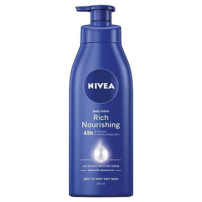 Nivea Body Nourishing Lotion 400mL