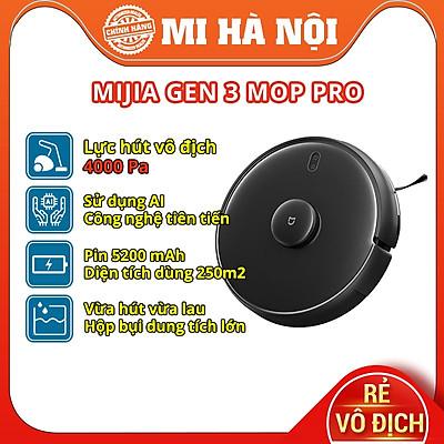 Robot Xiaomi hút bụi lau nhà Mijia Gen 3 (Mop P) -Hàng Chính Hãng