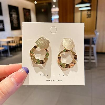 Bông tai nữ cao cấp Hàn Quốc kiểu nhỏ, dáng dài, trái tim đính đá đẹp xinh xắn_SET # 2