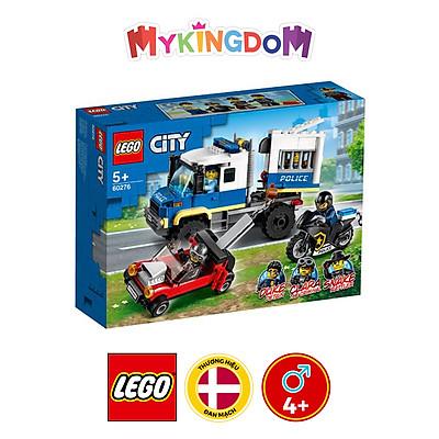 Đồ chơi LEGO City Xe Cảnh Sát Vận Chuyển Tội Phạm 60276