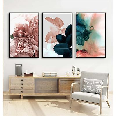 Tranh Treo tường Canvas - Tranh Trang trí Nghệ Thuật  Hoa Mẫu Đơn