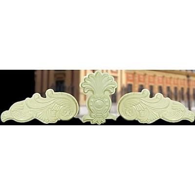 khuôn phù điêu hoa văn trang trí mặt tiền nhà 70x260cm