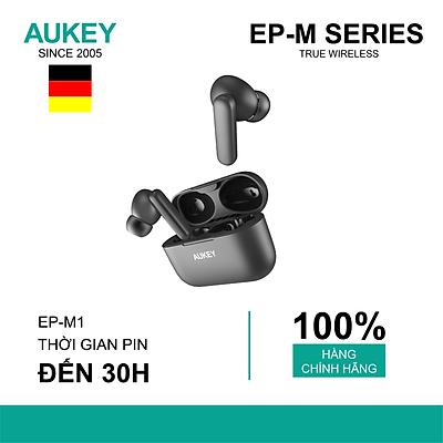 Tai Nghe Bluetooth Aukey V5.0 TWS-EP-M1 Không Dây Mini Thể Thao- Hàng chính hãng