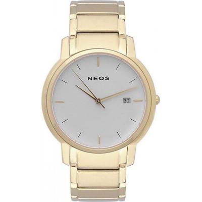 Đồng hồ NEOS N-30853M dây thép vàng