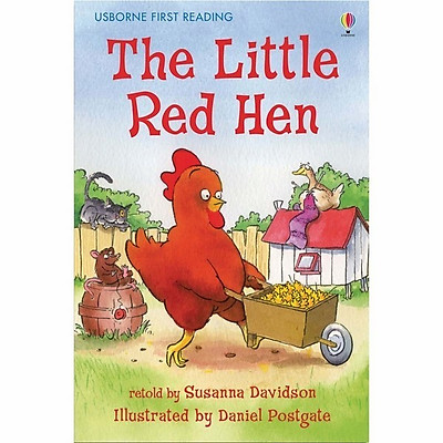 Sách thiếu nhi tiếng Anh - Usborne First Reading Level One: The Little Red Hen