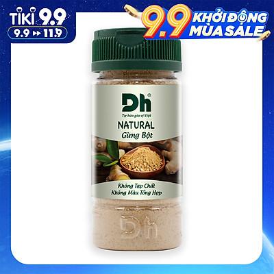 Natural Gừng bột 30g Dh Foods - Bột gừng nguyên chất 100%