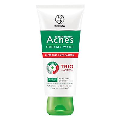 Kem rửa mặt ngăn ngừa mụn Acnes Creamy Wash (100g)