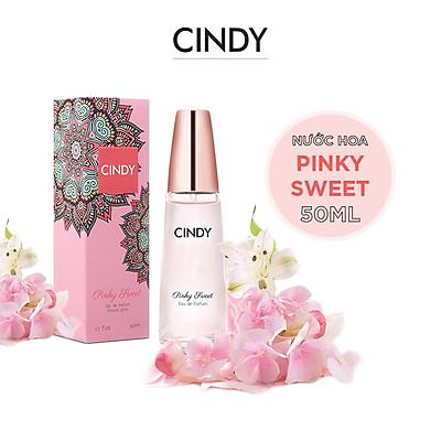 Nước hoa cho nữ Cindy Pinky Sweet mùi hương ngọt ngào trẻ trung 50ml