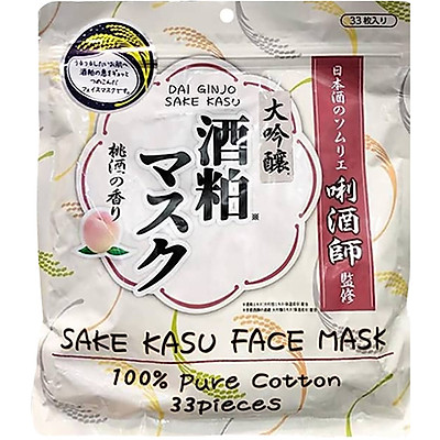 Mặt Nạ Sake Trắng Da Dai Gindo Nhật Bản (33 miếng)