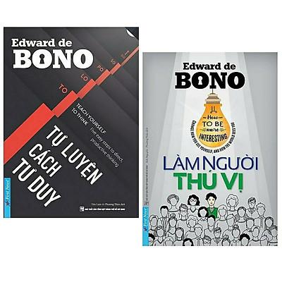 Combo 2 cuốn sách kĩ năng - tư duy sống hay: Làm Người Thú Vị + Tự Luyện Cách Tư Duy/ Bộ sách rèn luyện cách tư duy, cách suy nghĩ cho bạn