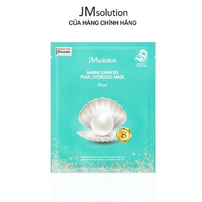 Mặt Nạ Thạch Ngọc Trai, Dưỡng Trắng JMSolution Marine Luminous Pearl Hydrogel Mask Pearl 30g