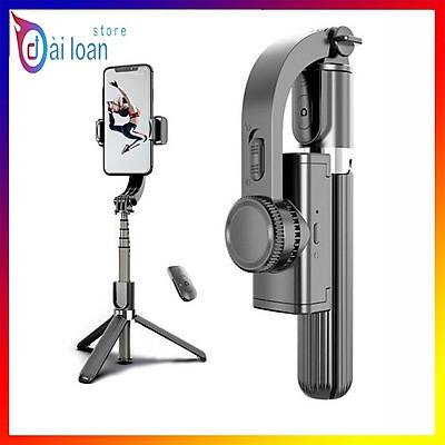 Gậy tự sướng chống rung L08 kiểu gimbal tripod dùng cho điện thoại, selfie chụp ảnh bằng remote Bluetooth 4.0