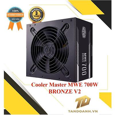 Nguồn máy tính Cooler Master MWE Bronze V2 700W - CHÍNH HÃNG