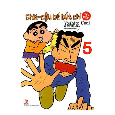 Shin - Cậu Bé Bút Chì - Tập 5 (Bản Đặc Biệt) (Tái Bản 2019)