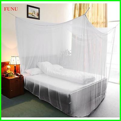 Mùng Tuyn FUNU Chống Muỗi Cao Cấp 1m6x2m- Màu Trắng- Hàng Chính hãng