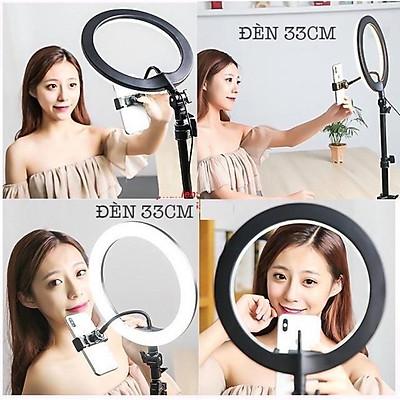 Đèn Led Ring HQ 18 LiveStream Makeup Spa Size 45cm