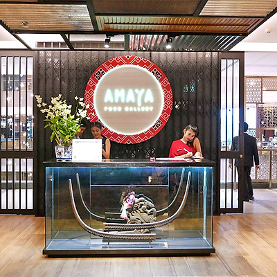 Vé Buffet Quốc Tế International Buffet Lunch Tại Amaya Food Gallery, Thái Lan (Thứ 2- Thứ 7)