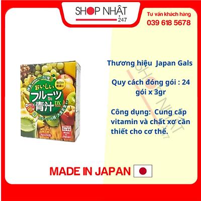Bột rau xanh tổng hợp Nội địa Nhật Bản - Tặng kẹo mật ong nguyên chất