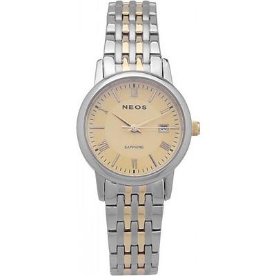 Đồng hồ NEOS N-30859L bạc phối vàng (nữ)