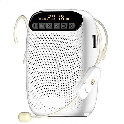 Máy trợ giảng không dây A500 Wireless Kèm theo: 1 Micro ko dây cài tai hạt đậu mầu da + 1 Micro có dây cài ve áo + 1 Tai nghe Bluetooth Siêu Bass Có Mic Đàm Thoại Thích Hợp các cuộc họp, hội nghị và học trực tuyến trên Zoom