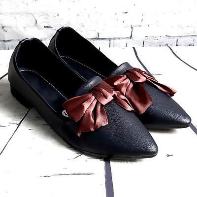Giày búp bê nữ đính nơ thời trang OEM T338KG