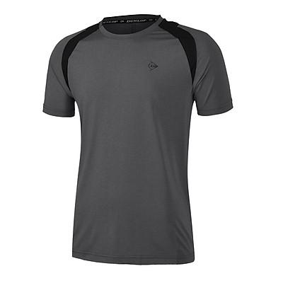 Áo cầu lông nam Dunlop - DABAS9034-1 Thoáng khí co giãn thoát mồ hôi tốt phù hợp vận động thể thao chơi cầu lông tennis