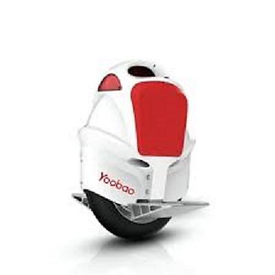 Xe điện 1 bánh E1 Yoobao - Hàng chính hãng (Trắng Hồng)