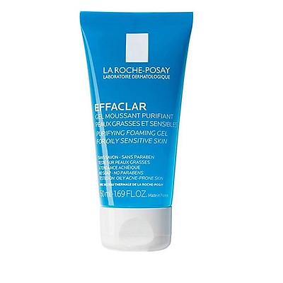 Sữa rửa mặt Laroche Posay Purifying Foaming Gel For Oily Sensitive Skin 50ml