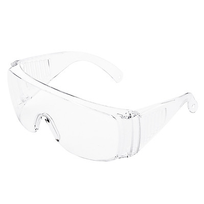 Safety Glasses Professional Goggles Eyewear Anti Saliva, Dander, Pollen, Dust, Virus, with Clear Lens for Eye Protection