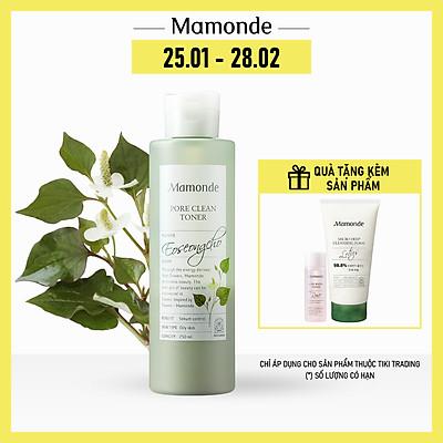 Nước Cân Bằng Làm Sạch Dầu Nhờn Và Ngăn Ngừa Mụn Mamonde Pore Clean Toner (250ml) 110651163