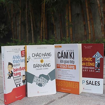 Bookset Sách: Giúp Bạn Trở Thành Người Bán Hàng Xuất Sắc