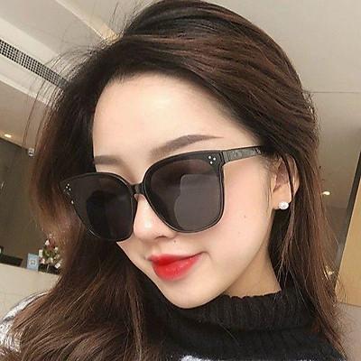Kính râm kính mát gọng vuông kiểu mắt mèo thời trang Hàn Quốc cổ điển bảo vệ chống tia UV