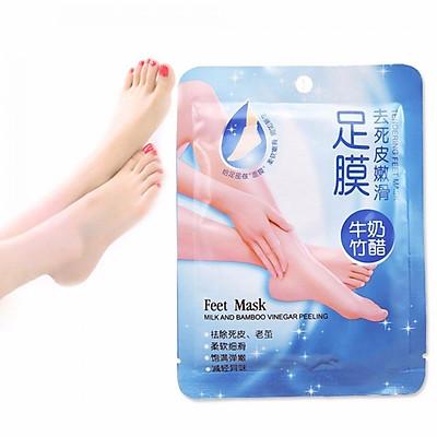 Mặt Nạ Feet Mask Sữa Tươi Và Dấm Tre Tẩy Tế Bào Chết Cho Chân