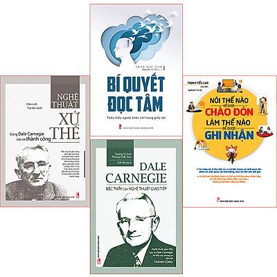 Combo ( 4 cuốn sách):Bí Quyết Đọc Tâm + Bậc Thầy Giao Tiếp + Nghệ Thuật  Xử Thế + Nói Thế Nào Để Đc Ghi Nhận