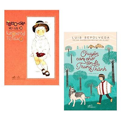 Combo Sách Dành Cho Bé Bán Chạy Nhất : Totochan Cô bé bên cửa sổ  + Chuyện Con Chó Tên Là Trung Thành ( Tặng Kèm Poster An Toàn Cho Con Yêu )